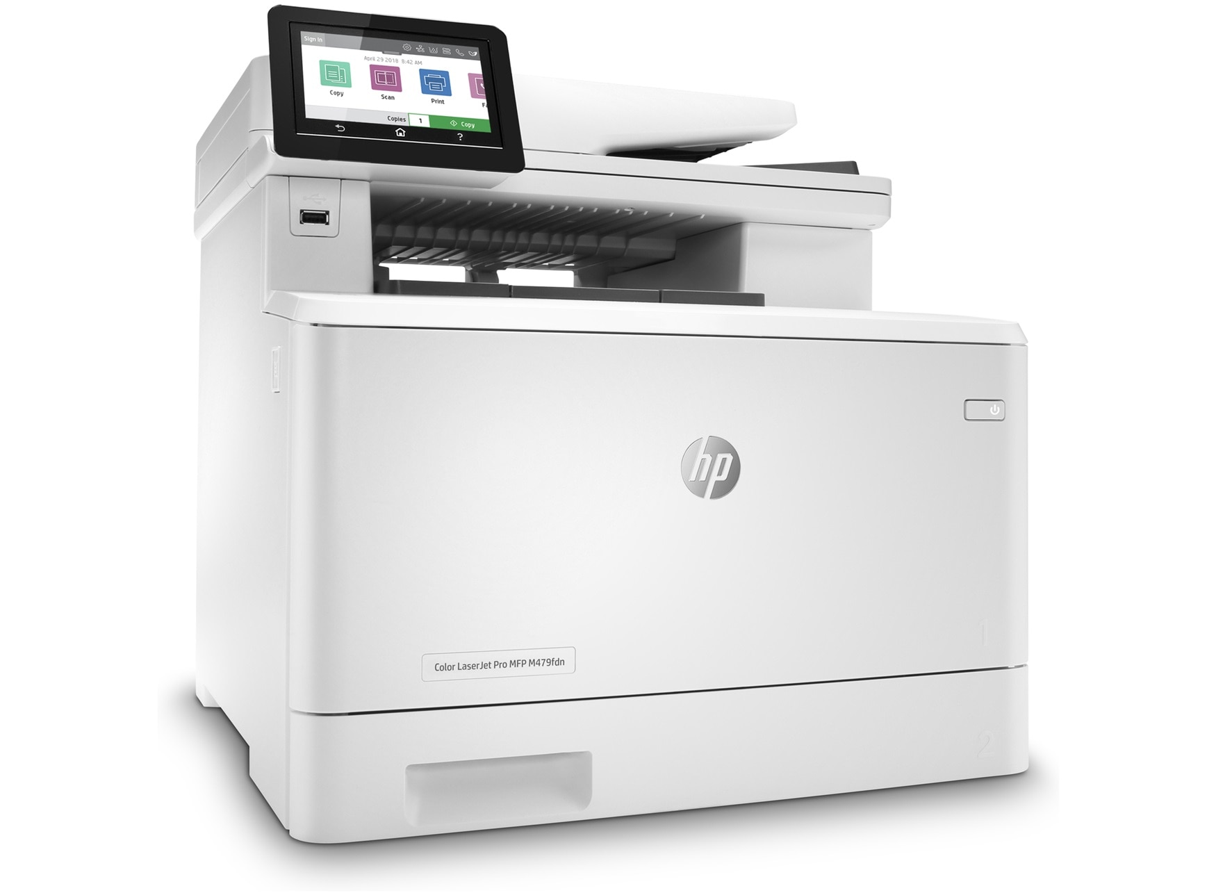 HP Color LaserJet Pro MFP M479fdn Multifunction printer with Fax